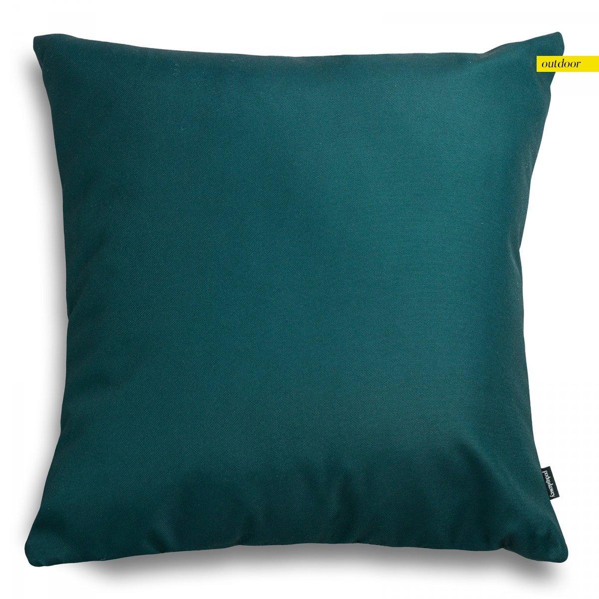 Zielona poduszka ogrodowa 45x45