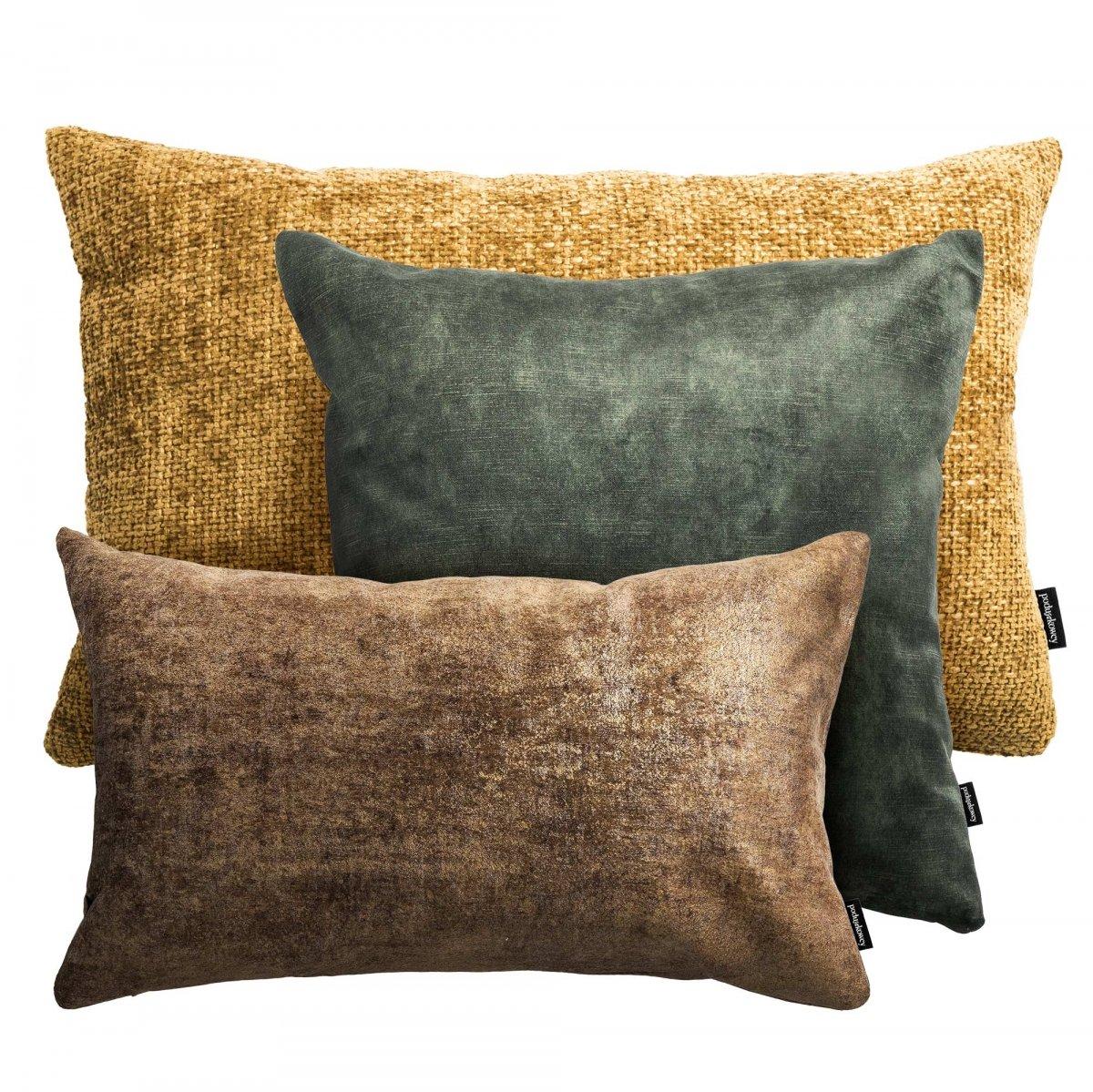 Zestaw poduszek dekoracyjnych Coco + Stone + Glossy