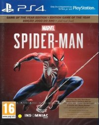 MARVEL SPIDER-MAN GOTY PS4 PL DUBBING
