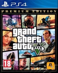 GTA V GRAND THEFT AUTO V 5 PREMIUM EDITION PL PS4