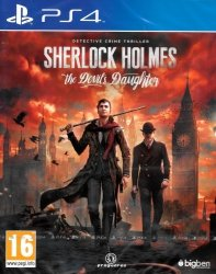 SHERLOCK HOLMES THE DEVILS DAUGHTER PS4 PL