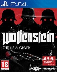 WOLFENSTEIN THE NEW ORDER PS4 PL