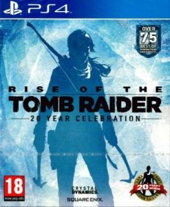 RISE OF THE TOMB RAIDER 20 YEAR CELEBRATION PS4 PL