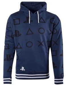 BLUZA MĘSKA Playstation - AOP Icons 2XL