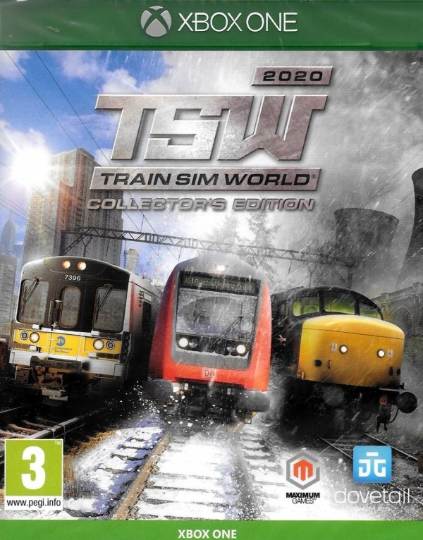 TRAIN SIM WORLD 2020 COLLECTORS EDITION XBOX ONE PL