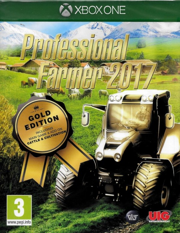 PROFESSIONAL FARMER 2017 XBOX ONE GOLD EDITION PL