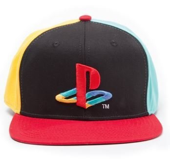 CZAPKA Z DASZKIEM PlayStation - Snapback with Original Logo Colors