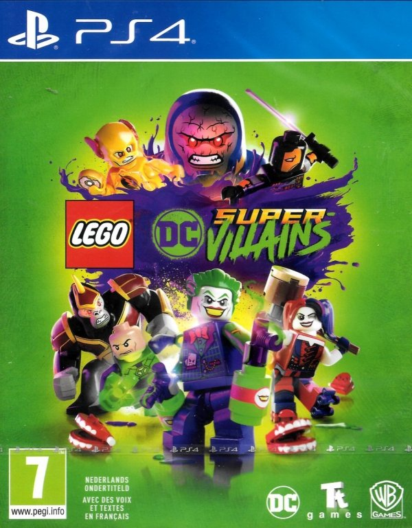 LEGO DC SUPER - VILLAINS LEGO SUPER ZŁOCZYŃCY PS4 PL