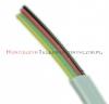 Kabel telefoniczny płaski 4-żyłowy biały krążek 100m RoHS