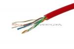 Kabel skrętka UTP linka, czerwona