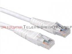 PREIMUM UTP Patch cord 3,0 m. Kat.6 biały