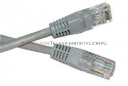 UTP Patch cord 10,0 m. Kat.5e szary