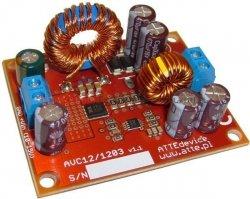 ATTE Moduł zasilania rejestratorów i dysków - konwerter napięcia 30W, Uwe=6-15V, Uwy=12V