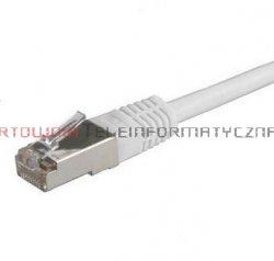 SOLARIX SFTP Patch cord 1,0 m. Kat.6A, LSOH, szary