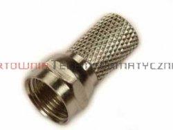 Wtyk typu F nakręcany 7,2 mm – gwintowany