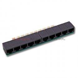 COBINET adapter/nakładka na łaczówkę LSA - 10xRJ45
