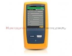 Wykonanie pomiarów miernikiem FLUKE DSX5-5000 - 1 x RJ45