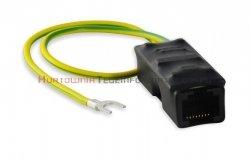 ATTE Moduł zabezpieczający sieć Ethernet Gigabit oraz tor zasilania PoE przed przepięciami