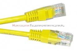 UTP Patch cord 15,0 m. Kat.5e żółty