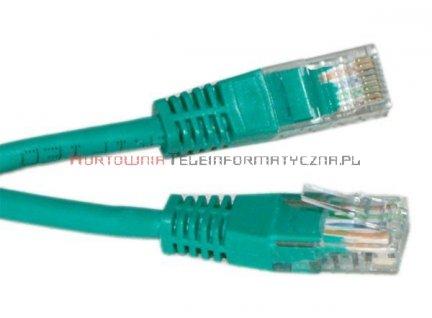 UTP Patch cord 1,5 m. Kat.6 zielony