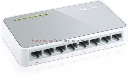 TP-LINK SF1008D Switch 8-Port Fast Ethernet, desktop