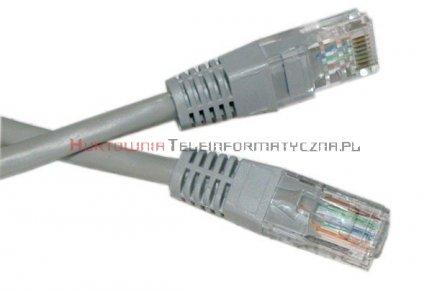 UTP Patch cord 10,0 m. Kat.6 szary