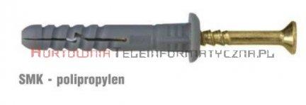 WKRĘT-MET Kołki szybkomontażowe 6x40 z szerokim kołnierzem (200szt)