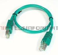 FTP Patch cord 0,5 m. Kat.5e