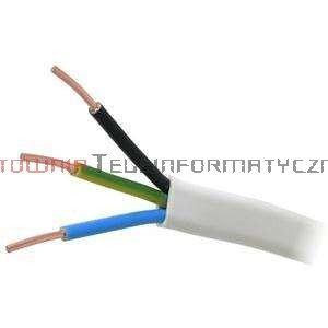 Kabel elektryczny drut 3x1,5mm YDYp płaski