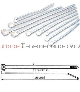 Opaska kablowa 2,5x100 (100szt)