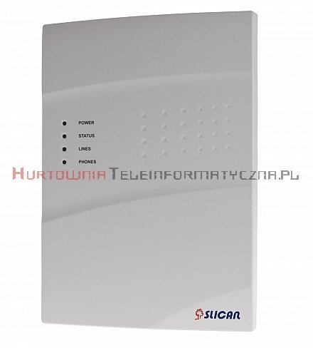 SLICAN centrala IPU-14.105 WM (6FXS, 1CO, 8VoIP, 8REC, 24AbVoIP, 16TrVoIP)