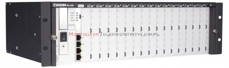 SLICAN centrala serwer IP PBX IPL-256A,  RACK 3U