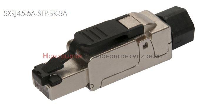 SOLARIX Wtyk RJ45 8p8c kat. 6A FTP, beznarzędziowy