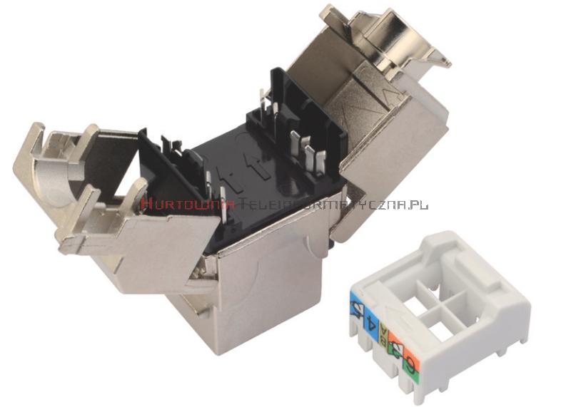 SOLARIX keystone kat.6A 10G FTP, beznarzędziowy