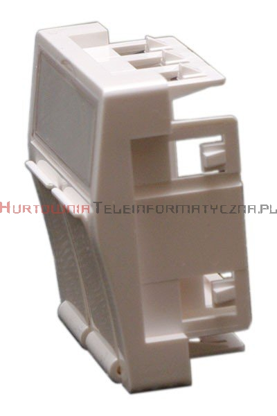 MMC Adapter kątowy 45x45 mm do modułów keyston 2xRJ45