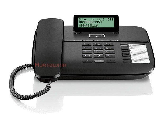 GIGASET DA710 Telefon analogowy czarny