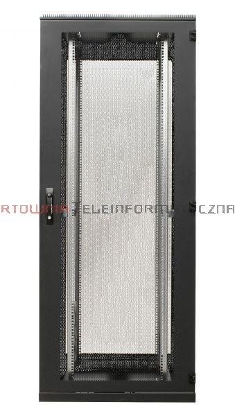 BKT Serwerowa szafa ramowa stojąca TOP II 42U, 600/1200/1980, szer./gł./wys. mm. drzwi perforowane, RAL 7035 ( konstrukcja spawana - nośność 1000 kg )
