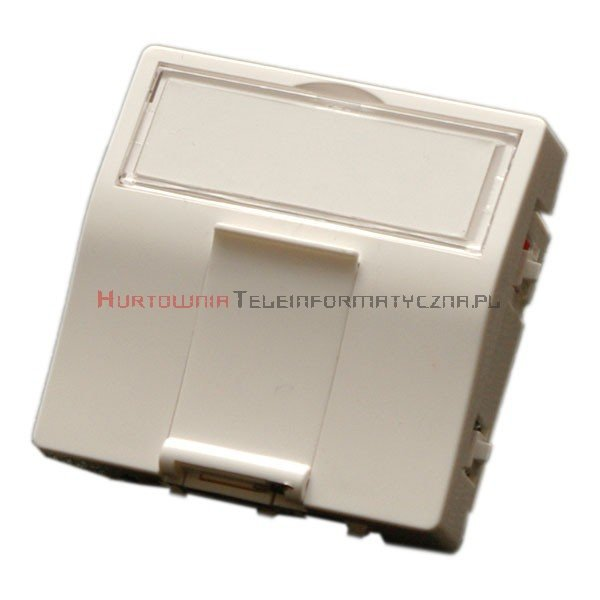 MMC Adapter kątowy 45x45 mm do modułów keyston 1xRJ45