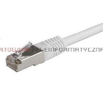 SOLARIX SFTP Patch cord 0,5 m. Kat.6A, LSOH, szary