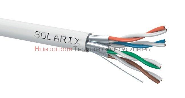 SOLARIX kabel U/FTP, drut, LSOH Dca, kat.6A