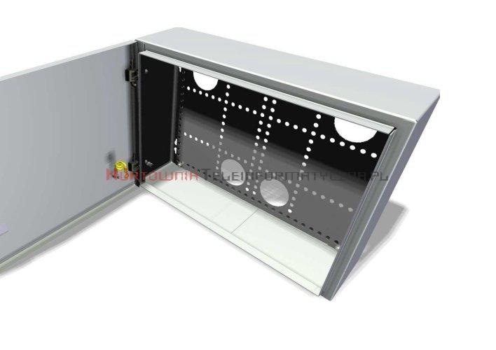 LogiWire Szafka multimedialna natynkowa 370x270x115