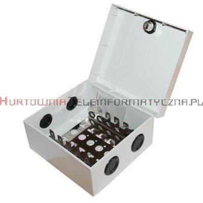 Box / skrzynka rozdzielcza LSA 50 parowa zamykana na kluczyk