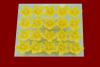 Lilijka żółta - dekoracja cukrowa 20 szt.