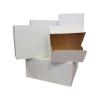 Pudełka cukiernicze klejone białe na ciasto 22x22x12 cm - 10szt.