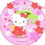 Modecor - opłatek na tort okrągły Hello Kitty B