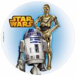 Opłatek na tort Star Wars R2D2