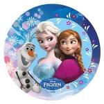Modecor - opłatek na tort okrągły Kraina Lodu A (Frozen)