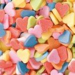 Posypka dekoracyjna confetti serduszka kolorowe