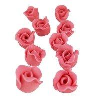Cukrowe MINI RÓŻE różyczki wrzosowe 10szt