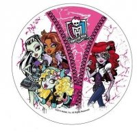 Modecor - opłatek na tort Monster High B 14,5 cm